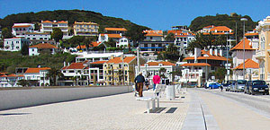 São Martinho do Porto Beach Promenade, Alcobaça, Portugal