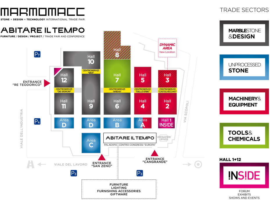 Marmomacc 2014 — mapa