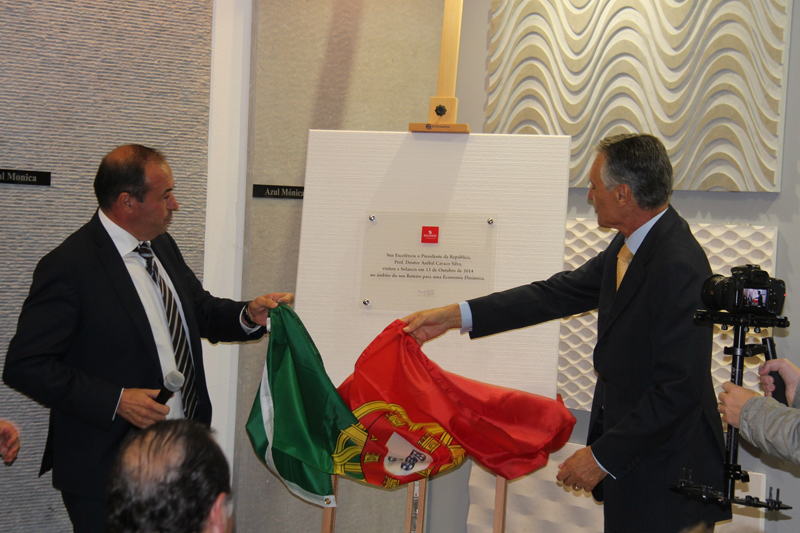 President of the Portuguese Republic visits SOLANCIS