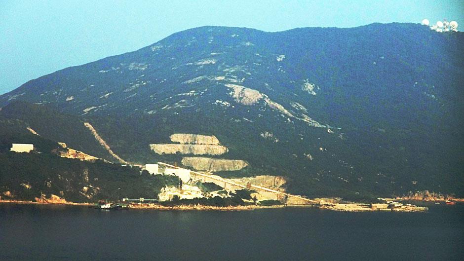 Reabilitação de pedreiras: Shek O Quarry, Hong Kong