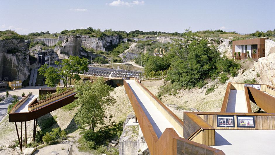 Reabilitação de pedreiras: St. Margarethen Quarry, Austria