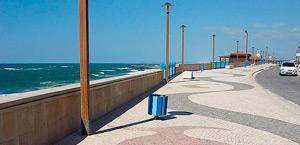 Marginal de la Praia da Vieira, Leiria, Portugal