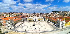 Praça do Comércio, Lisboa, Portugal