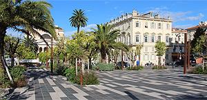 Promenade du Paillon, Nice, Francia