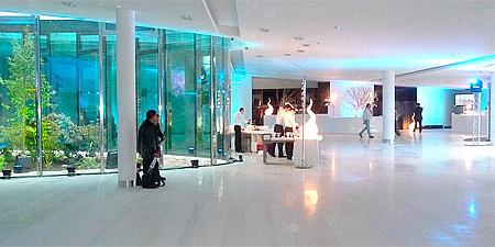 Pavimento interior do edifício EOS Generali, Paris, França