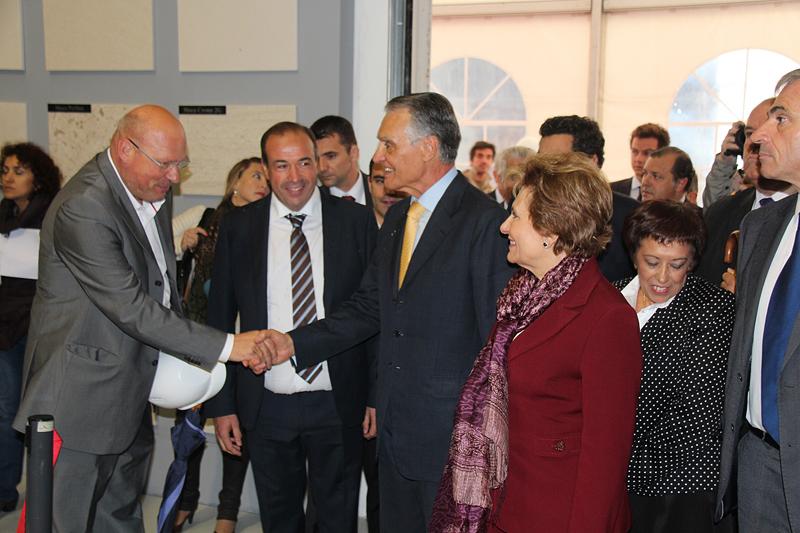 Presidente de la República visita SOLANCIS