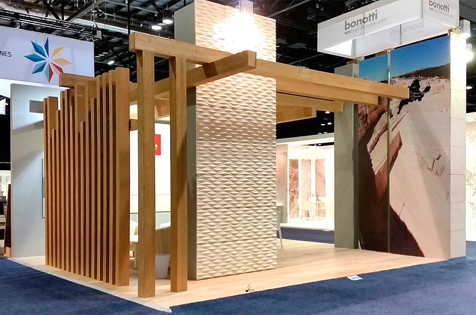 Fachada 3D Namib presentada en los Estados Unidos de América
