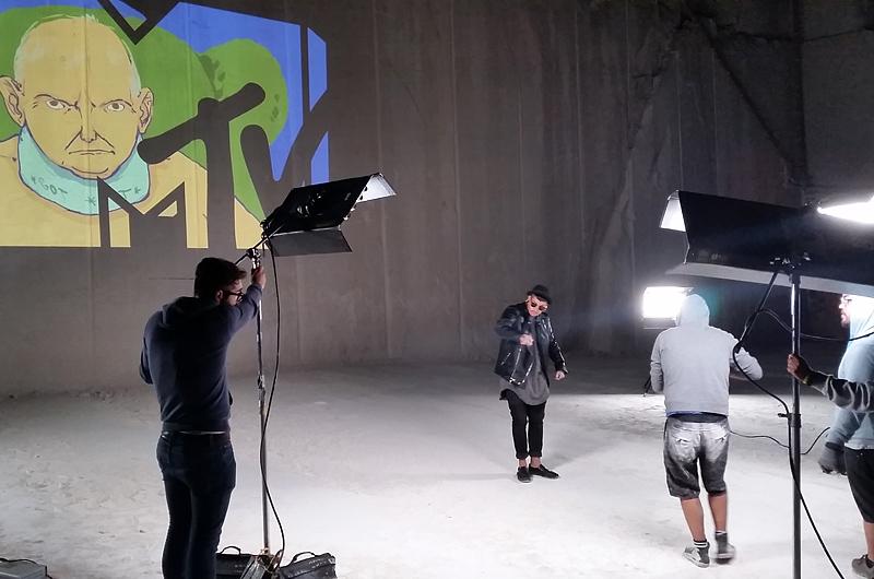 Cantera Vale da Moita en el aniversario de MTV Portugal