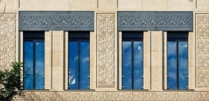 fachada 3d piedra