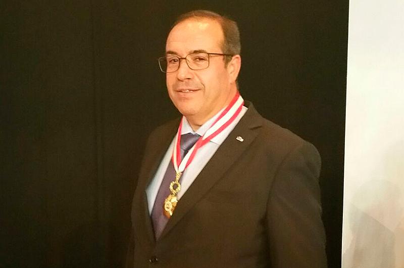 Samuel Delgado a été décoré par le Président de la République