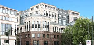 Banco KBC, em Bruxelas, Bélgica