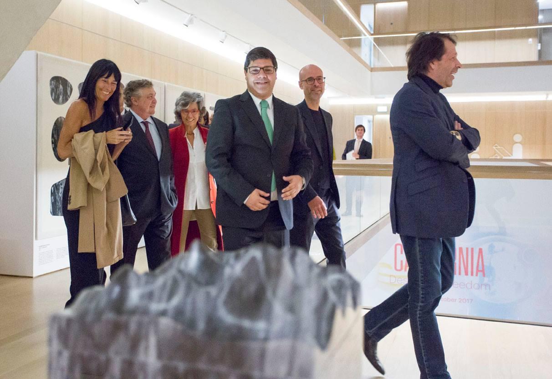 Convidados na exposição