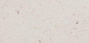 Pedra Branco Imperial com acabamento amaciado