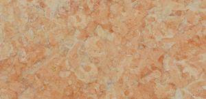 Pedra Lioz Coral com acabamento amaciado