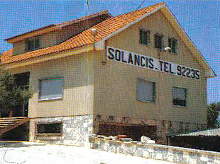 Antigas instalações da SOLANCIS